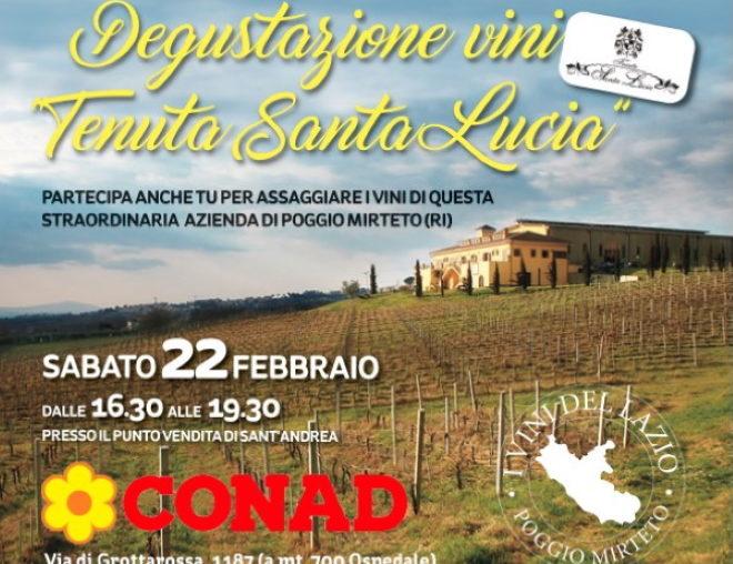 """Degustazione Vini """"Tenuta Santa Lucia"""""""